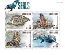Sierra Leone 2015 Fauna  Seals - Sierra Leone (1961-...)