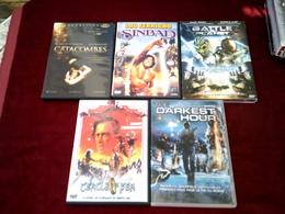 LOT DE 5 DVD   POUR 10 EUROS ( Lot 212  ) - DVD