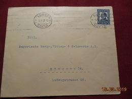 Lettre De 1932 à Destination De Munich - Cartas