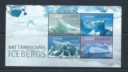Australian Antarctic Territory 2011 Iceburg Miniature Sheet MNH - Unused Stamps