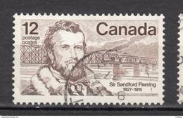 Canada, Pont De Chemin De Fer, Railway Bridge, Train, Flemming, Franc-maçon, Franc-maçonnerie, Barbe - Trains