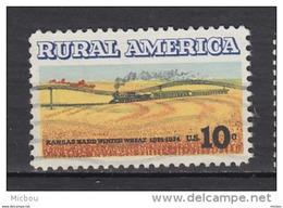 USA, Train, Blé, Wheat, - Trains