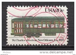 USA, Train, Tramway, Streetcar - Trains