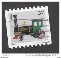 USA, Train, Cloche, Bell, Locomotive, Jouet, Toy, Noël, Christmas, Coil - Trains