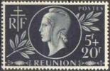 Détail De La Série Entraide Française ** Réunion N° 251 - Marianne De Dulac - 1944 Entraide Française