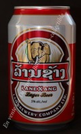 """LAOS -Canette Vide """"LaneXang Lager Beer"""" - Cannettes"""