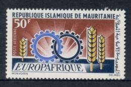 Mauritania 1966 EuropaAfrique MLH - Mauritania (1960-...)