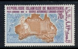 Mauritania 1969 London-Sydney Automobile Race 70f MUH - Mauritania (1960-...)