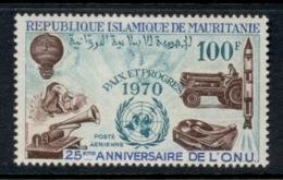 Mauritania 1970 UN 25th Anniversity MLH - Mauritania (1960-...)