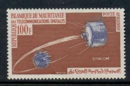 Mauritania 1964 Communication Through Space MLH - Mauritania (1960-...)