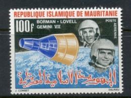 Mauritania 1966 Space Achievements 100f Gemini VII MLH - Mauritania (1960-...)