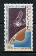 Mauritania 1966 Launch Of D1 Satellite MLH - Mauritania (1960-...)