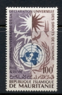 Mauritania 1963 Declaration Of Human Rights MLH - Mauritania (1960-...)