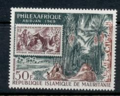 Mauritania 1968 Philexfrance, Jungle Trail MLH - Mauritania (1960-...)