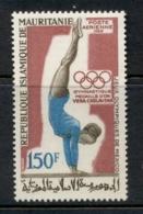 Mauritania 1969 Summer Olympics Mexico City Gold Medal Winners 150f Gymnastics MUH - Mauritania (1960-...)