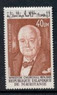 Mauritania 1974 Winston Churchill MLH - Mauritania (1960-...)