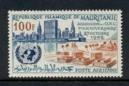 Mauritania 1962 Admission To UN MLH - Mauritania (1960-...)