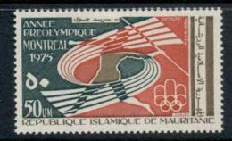 Mauritania 1975 Pre Olympic Year 50um MUH - Mauritania (1960-...)