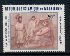 Mauritania 1981 Picasso Paintings 50um MUH - Mauritania (1960-...)