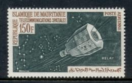 Mauritania 1963 Communication Through Space 150f MLH - Mauritania (1960-...)