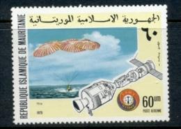 Mauritania 1975 Apollo Soyuz 60 Um MUH - Mauritania (1960-...)
