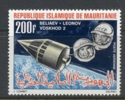 Mauritania 1966 Space Achievements 200f Voshkod 2 MLH - Mauritania (1960-...)