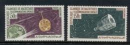 Mauritania 1963 Communication Through Space MLH - Mauritania (1960-...)