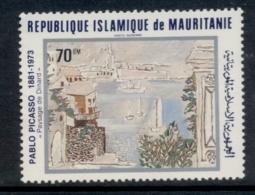 Mauritania 1981 Picasso Paintings 70um MUH - Mauritania (1960-...)
