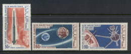 Mauritania 1966 French Achievement In Space MLH - Mauritania (1960-...)