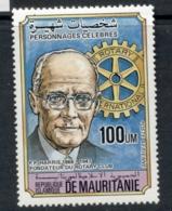 Mauritania 1984 Rotary Club Intl. MUH - Mauritania (1960-...)