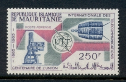 Mauritania 1965 ITU Centenary MLH - Mauritania (1960-...)