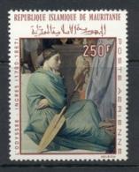 Mauritania 1968 Painting By Ingres 250f The Odyssey MUH - Mauritania (1960-...)