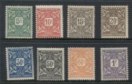 Mauritania 1914 Postage Dues MLH - Mauritania (1906-1944)