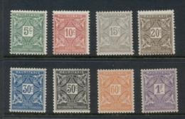 Mauritania 1914 Postage Dues MUH - Mauritania (1906-1944)