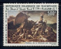 Mauritania 1966 Painting, Sinking Of The Frigate Medusa MLH - Mauritania (1960-...)