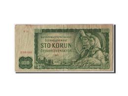 Billet, Tchécoslovaquie, 100 Korun, 1961, Undated, KM:91b, TB - Tchécoslovaquie