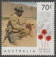 AUSTRALIA - USED 2015 70c Centuary Of Service - Animals In War - Dogs - 2010-... Elizabeth II