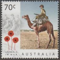 AUSTRALIA - USED 2015 70c Centuary Of Service - Animals In War - Camels - 2010-... Elizabeth II