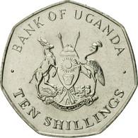 Monnaie, Uganda, 10 Shillings, 1987, FDC, Nickel Plated Steel, KM:30 - Ouganda