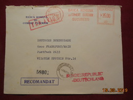 Lettre De 1982 à Destination De Frankfurt/Main Avec EMA - Marcophilie - EMA (Empreintes Machines)