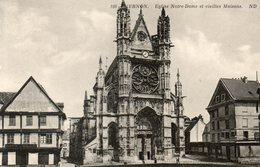 - 27 - VERNON (Eure) - Eglise Notre-Dame Et Vieilles Maisons - - Vernon