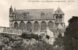 - 27 - VERNON (Eure) - Eglise Notre-Dame, Façade Latérale - - Vernon