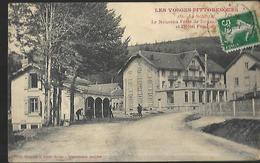 88 La Schlucht Le Nouveau Poste De Douane Française Et Hotel Français - Douane