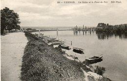 - 27 - VERNON (Eure) - La Seine Et Le Pont De Fer - - Vernon