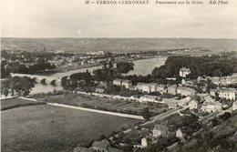 - 27 - VERNON-VERNONNET (Eure) - Panorama Sur La Seine - - Vernon