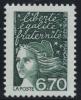 N° 3098  Année 1997  Marianne Du 14 Juillet  Faciale 6,70 Francs - France