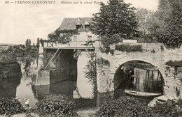 - 27 - VERNON-VERNONNET (Eure) - Maison Sur Le Vieux Pont - - Vernon