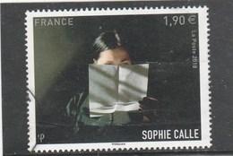 FRANCE 2018 SOPHIE CALLE OBLITERE - Oblitérés