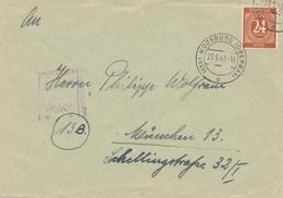POW - Kgf:  Moosburg Nach München 1947 - Gemeinschaftsausgaben