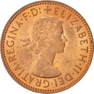 Monnaie, Grande-Bretagne, Elizabeth II, 1/2 Penny, 1967, SPL, Bronze, KM:896 - 1902-1971 : Monnaies Post-Victoriennes